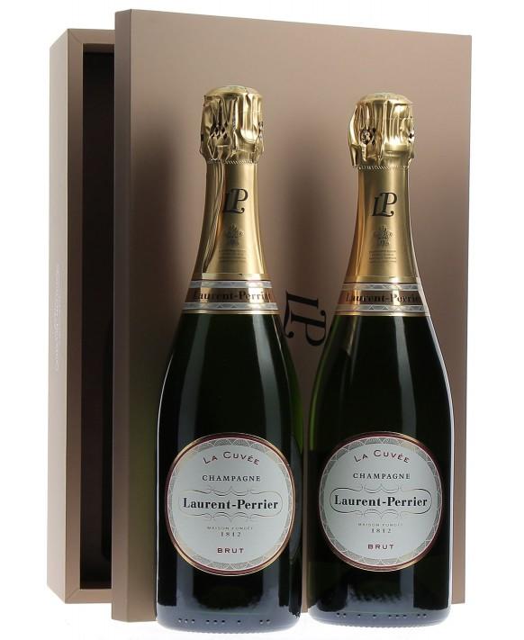 Champagne Laurent-perrier 2 Brut la Cuvée in casket
