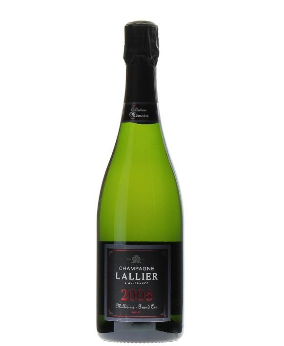 Champagne Lallier Millésime 2008 75cl