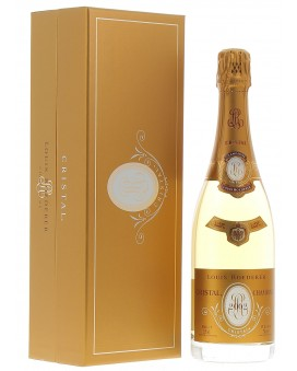 Champagne Louis Roederer Cristal 2002 coffret luxe