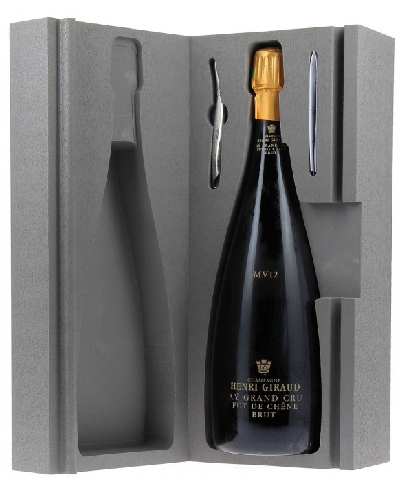 Champagne Henri Giraud Fût de chêne MV12 Magnum