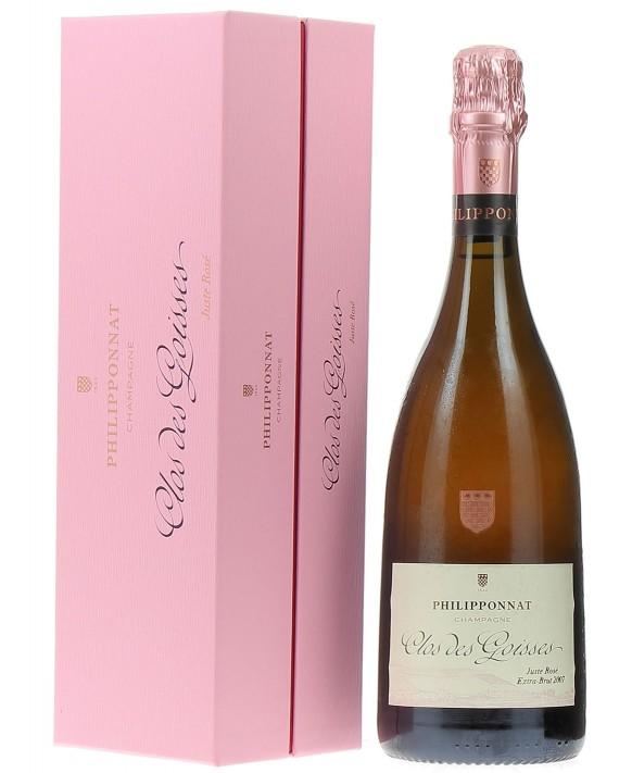 Champagne Philipponnat Clos des Goisses Juste Rosé 2007