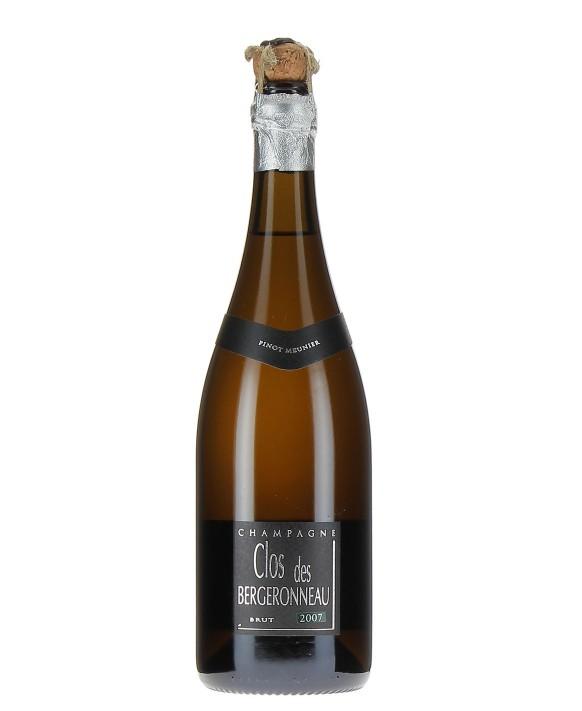Champagne Bergeronneau Marion Clos des Bergeronneau 2007