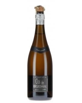 Champagne Bergeronneau Marion Clos des Bergeronneau harvest  2007