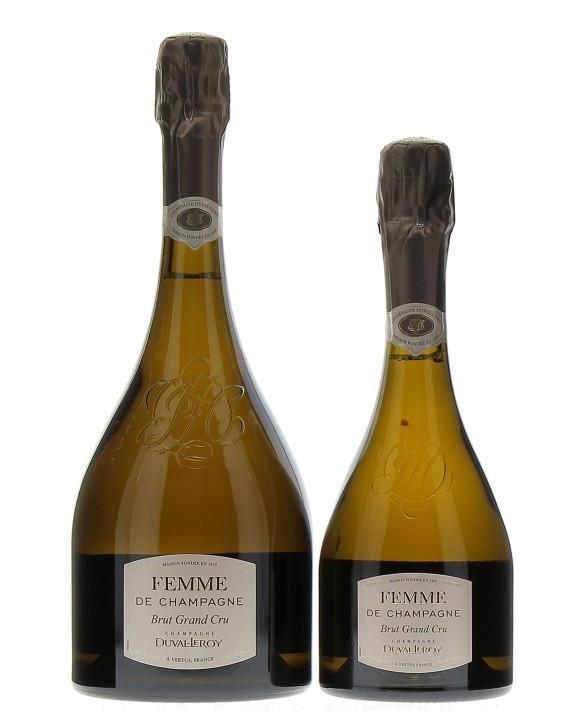 Champagne Duval - Leroy Femme de Champagne Grand Cru and half-bottle