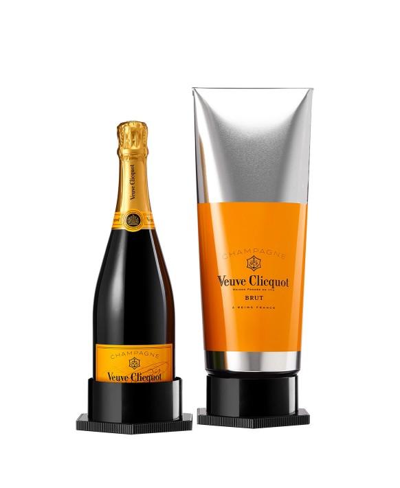 Champagne Veuve Clicquot Carte Jaune coffret gouache 75cl