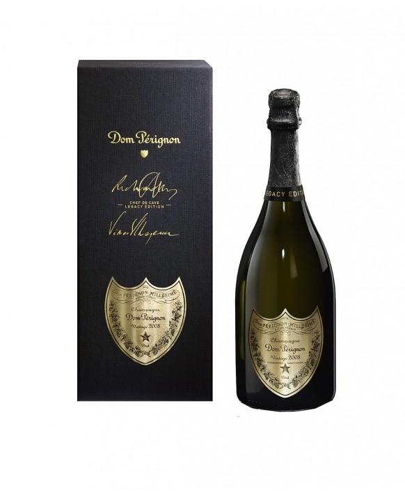 Champagne Dom Perignon Vintage 2008 coffret Legacy 75cl