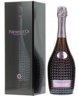 Champagne Nicolas Feuillatte Palmes d'Or Rosé 2006 luxurious gift box