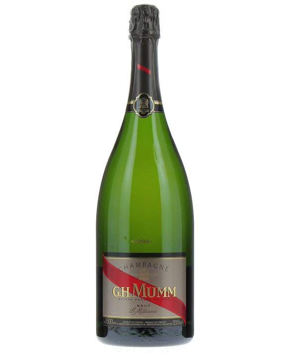 Champagne Mumm Millésime 2006 Magnum