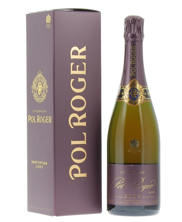 Champagne Pol Roger Rosé Millésime 2009