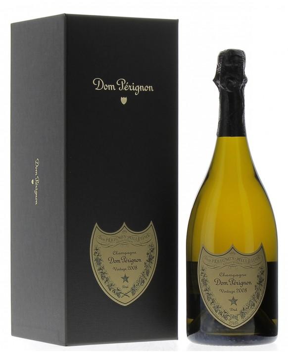 Champagne Dom Perignon Vintage 2008 coffret luxe