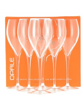 Champagne Delamotte Six flûtes