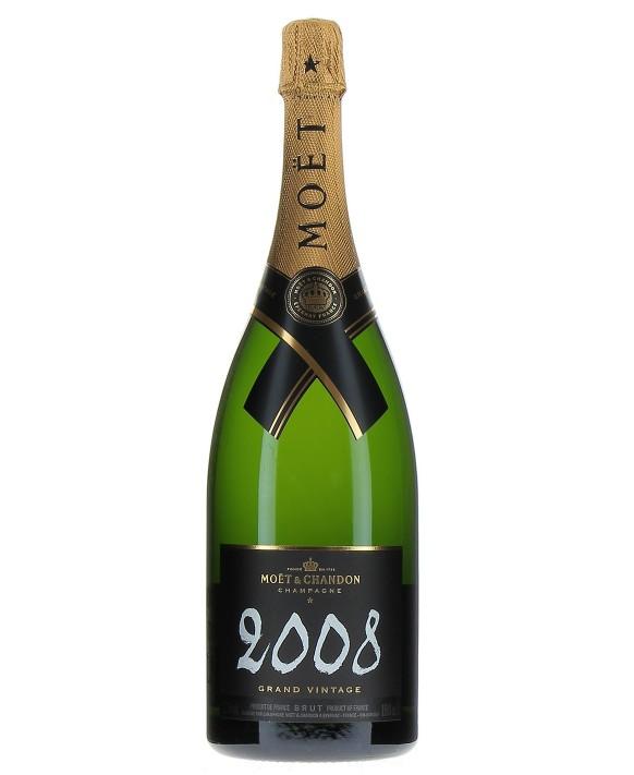 Champagne Moet Et Chandon Grand Vintage 2008 Magnum 150cl