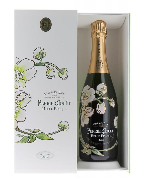 Champagne Perrier Jouet Belle Epoque 2012 casket