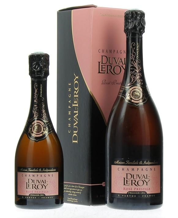 Champagne Duval - Leroy Rosé Prestige Premier Cru and half-bottle