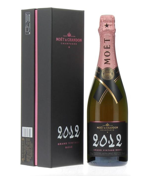 Champagne Moet Et Chandon Grand Vintage Rosé 2012