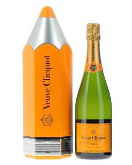 Champagne Veuve Clicquot Carte Jaune coffret pencil