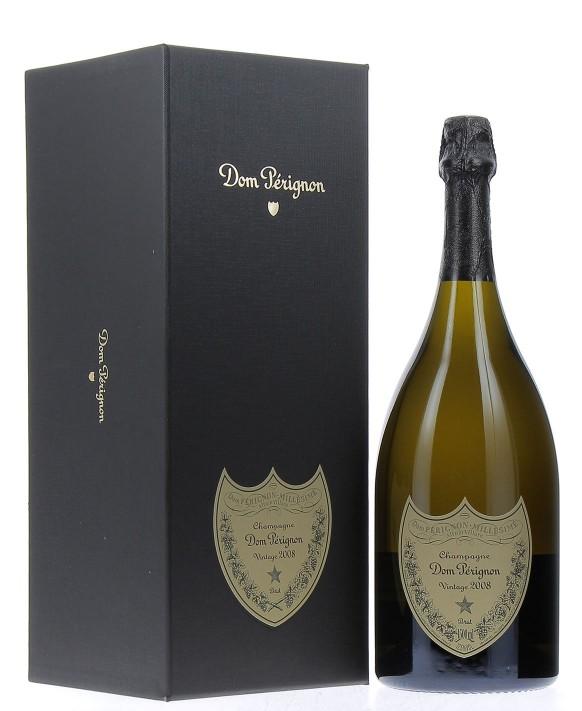 Champagne Dom Perignon Vintage 2008 Magnum en coffret