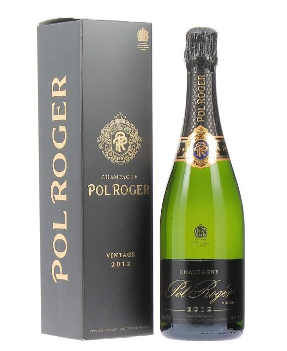 Champagne Pol Roger Brut 2012 75cl