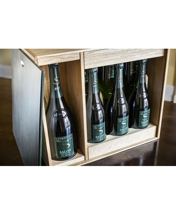 Champagne Salon Caisse œnothèque Magnum 2008 et 6 bouteilles