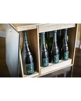 Champagne Salon Caisse Oenothèque Magnum 2008 et 6 bouteilles