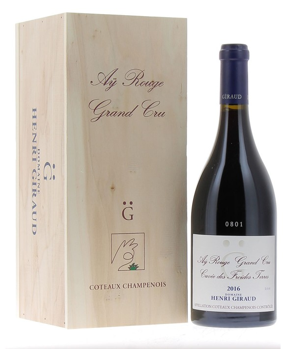 Champagne Henri Giraud Coteaux Champenois Aÿ Rouge Grand Cru 2016