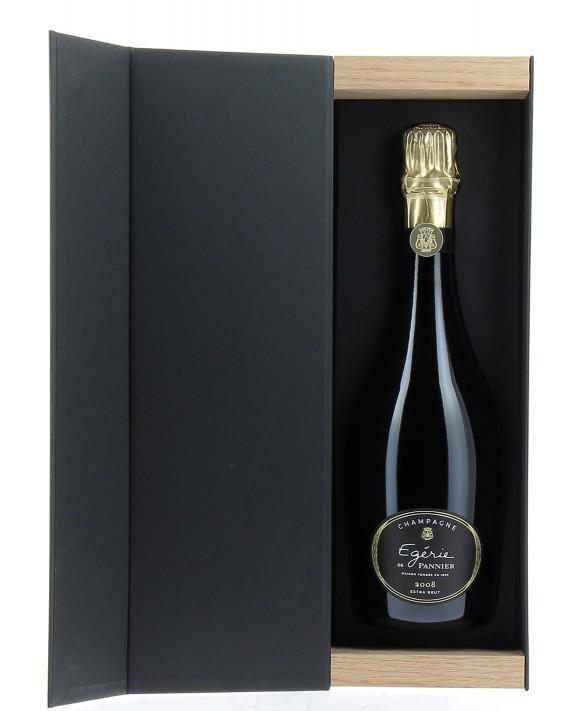 Champagne Pannier Egerie 2008 coffret 75cl