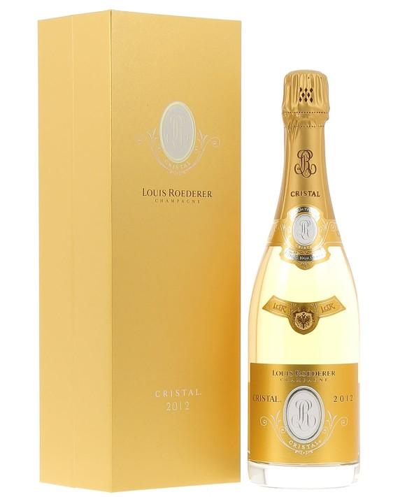 Champagne Louis Roederer Cristal 2012 luxury casket