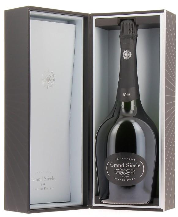 Champagne Laurent-perrier Grand Siècle itération N°22 Magnum