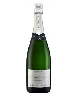 Champagne De Saint Gall Extra-Brut Blanc de Blancs Grand Cru