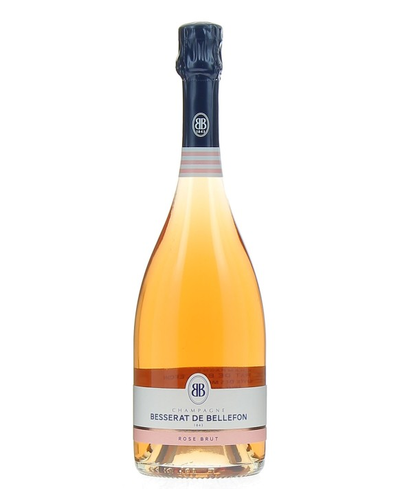 Champagne Besserat De Bellefon Cuvée des Moines Rosé Brut