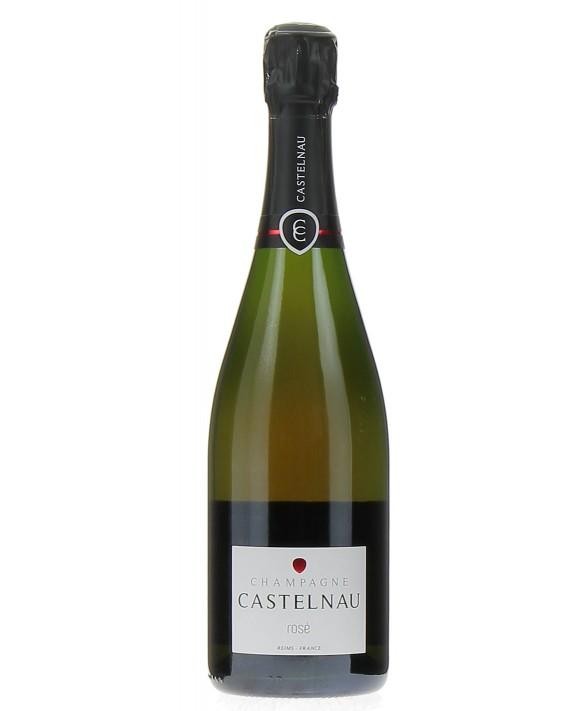 Champagne Castelnau Rosé