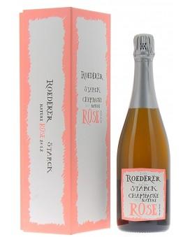 Champagne Louis Roederer Brut Nature Rosé 2012 Starck