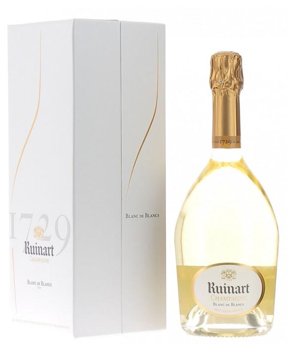 Champagne Ruinart Blanc de Blancs coffret