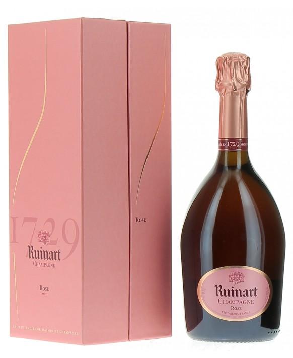 Champagne Ruinart Brut Rosé casket