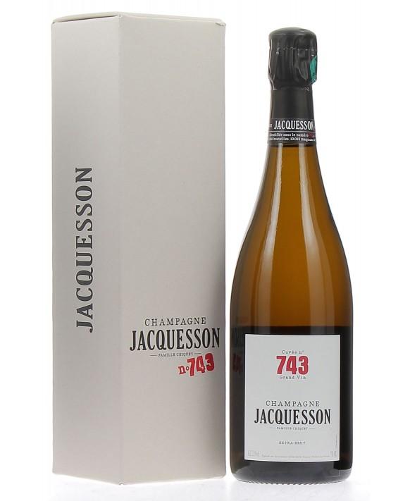 Champagne Jacquesson Cuvée 743 gift box 75cl
