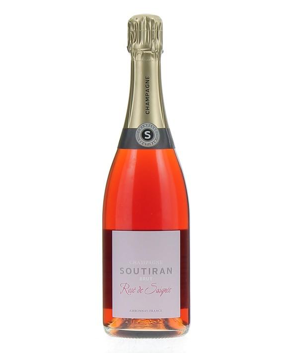 Champagne Soutiran Rosé de Saignée 75cl