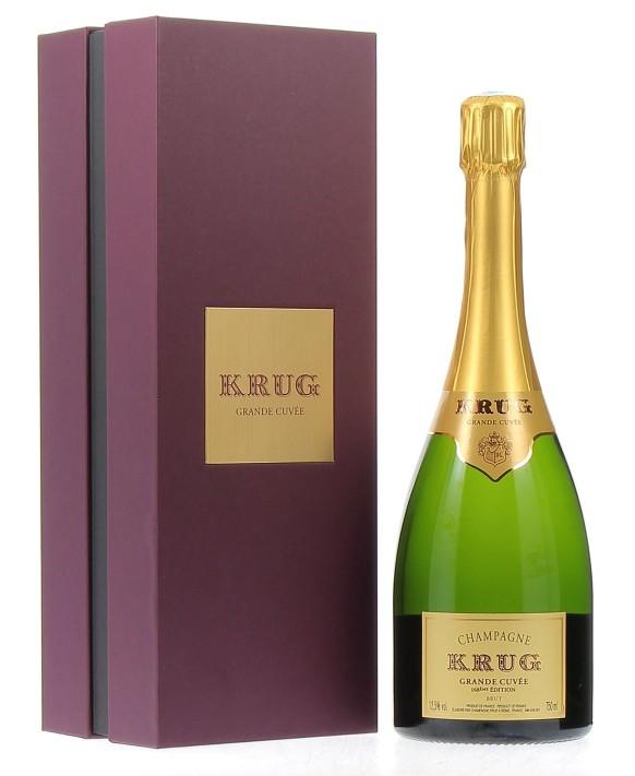 Champagne Krug La Grande Cuvée coffret (168ème Edition)