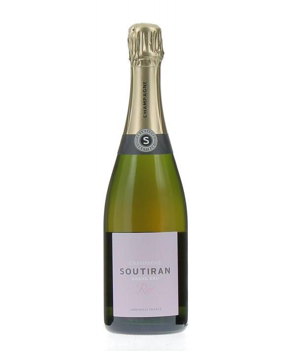 Champagne Soutiran Rosé Grand Cru