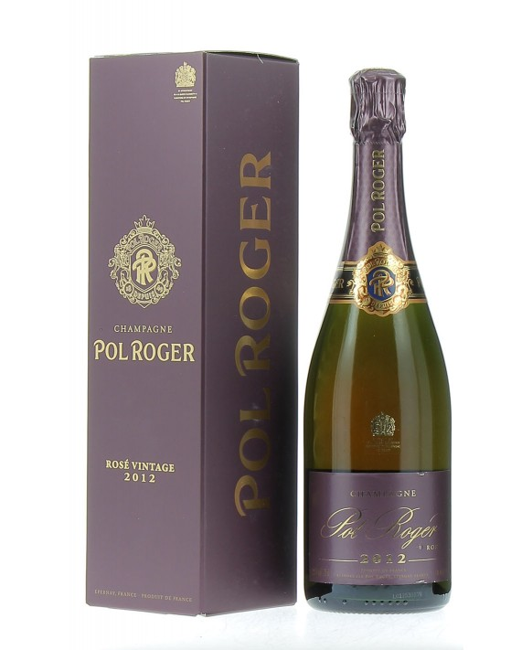 Champagne Pol Roger Rosé Millésime 2012