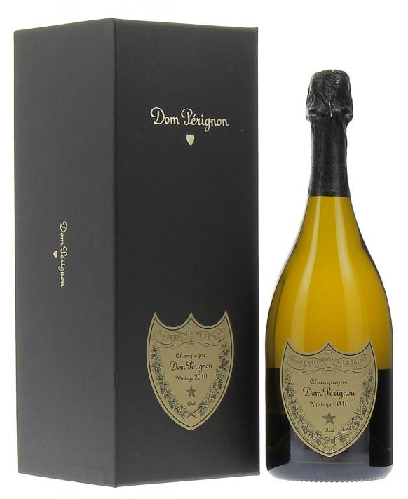 Champagne Dom Perignon Vintage 2010 coffret