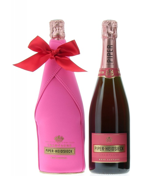 Champagne Piper - Heidsieck Rosé sauvage Grand Present Ice Jacket