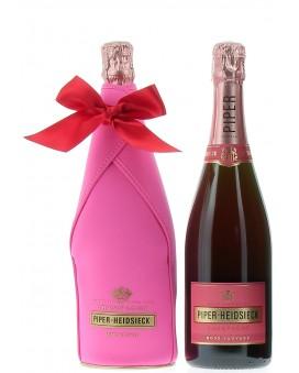 Champagne Piper - Heidsieck Rosé Sauvage étui isotherme Grand Present