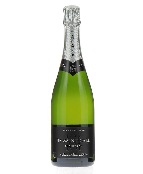 Champagne De Saint Gall Brut Blanc de Blancs Grand Cru 2012 75cl