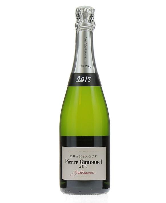 Champagne Pierre Gimonnet Brut Gastronome 2015 1er Cru