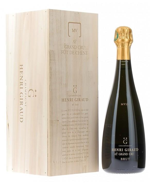 Champagne Henri Giraud Fût de chêne MV15