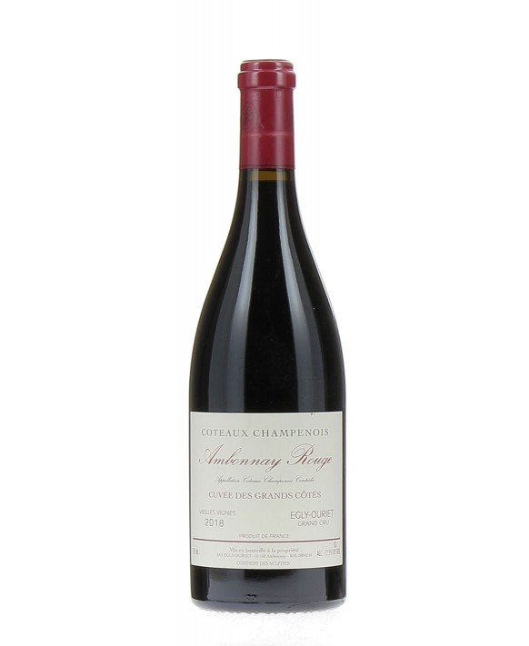 Champagne Egly-ouriet Coteaux Champenois Ambonnay Red 2018