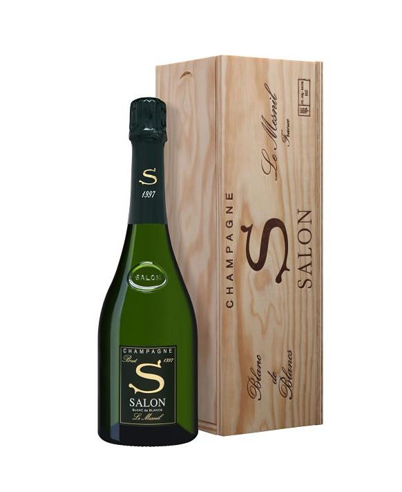 Champagne Salon S 1997 caisse bois 75cl