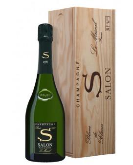 Champagne Salon S 1997 wooden case