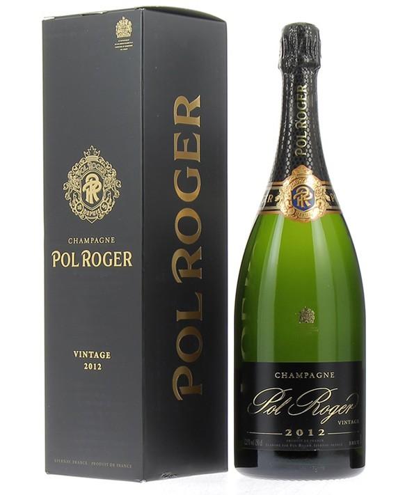 Champagne Pol Roger Magnum Brut 2012