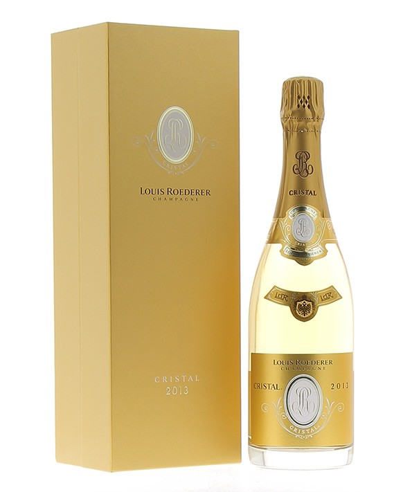 Champagne Louis Roederer Cristal 2013 luxury casket